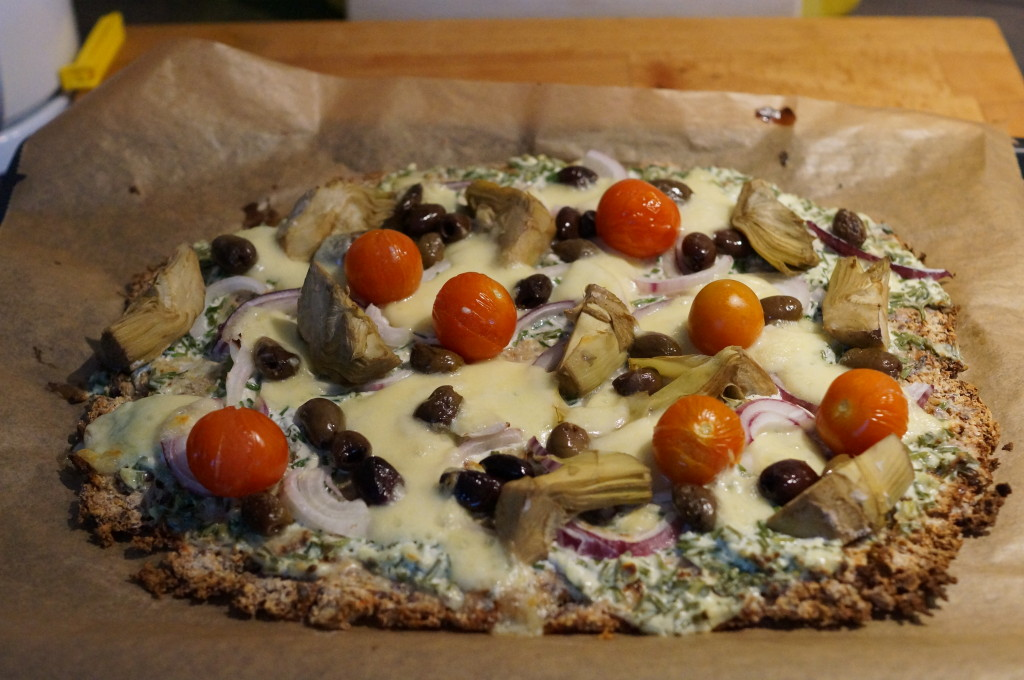 Fertige Low-Carb-Pizza