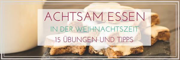 Achtsam Essen-Banner