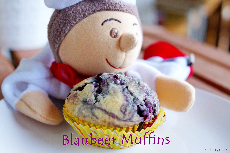 LittleCooks Blaubeermuffins